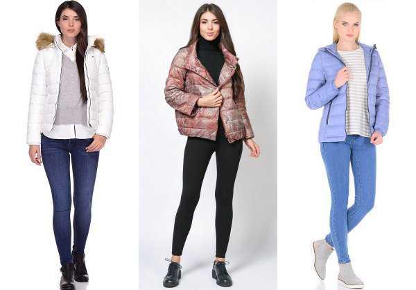 С чем носить дутые куртки весной