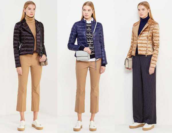 Дутые куртки с брюками