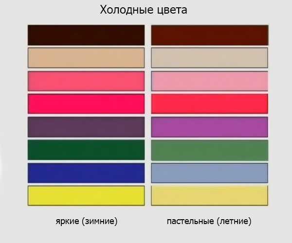 Холодные цвета