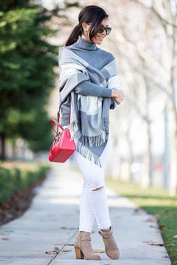 С чем носить белые джинсы: фото 10