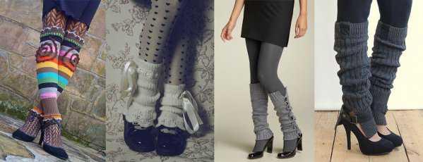 Гетры с туфлями