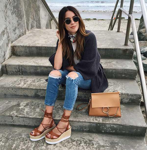 Обувь на удобной платформе